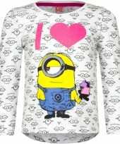 Minion t shirt wit