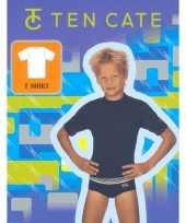 Ondergoed ten cate jongens t-shirt blauw