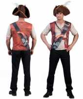 Piraten t-shirt 3d print heren