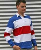 Rugbyshirt holland kleuren