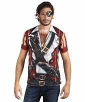 Shirt piraat opdruk