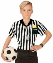 Voetbal scheidsrechter jongens shirt opdruk