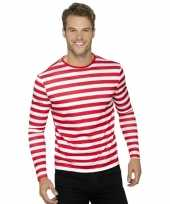 Waar is wally t-shirt lange mouw volwassenen